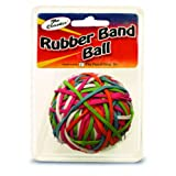 The Pencil Grip Pencil Grip The Classics Rubber Band Ball, Assorted Colors (TPG-581)