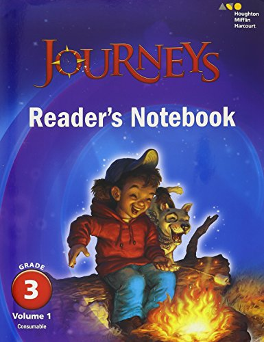 3 Grade Reading Worksheets - Journeys: Reader's Notebook Volume 1 Grade 3