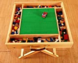 Wooden Lego Compatible Play Table for Lego, Kids