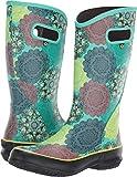 Bogs Women's Mandala Rain Boot Mint Green Multi 8 B US