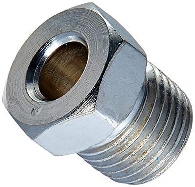 Steel Tube Nut, 1/4 (1/2-20 Inverted), 5/card