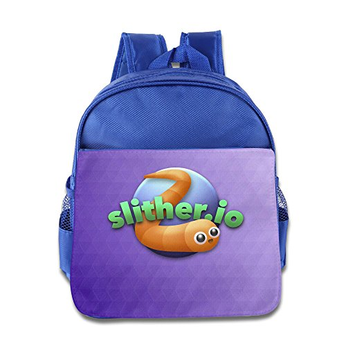 Customized SLITHER.IO Navy Kid's Backpack Daypack ()