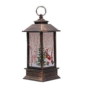 Coomir candeliere di Natale Torcia Luce candeliere Titolare della Lampada Lampadina Decorazione del Partito in casa 5
