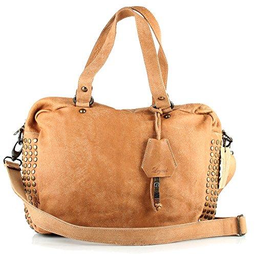 Lederbags, sac à main femme brune