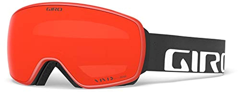 Giro Sports, USA APPAREL メンズ 黒 Wordmark - Vivid Ember / Vivid Infra赤 OS
