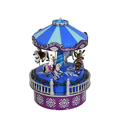 日本最大級 Frozen B075SJ1XFK Mini Animated Frozen Mini Carousel by Mr。クリスマス B075SJ1XFK, おおいたけん:1a293eba --- arianechie.dominiotemporario.com