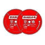 Freud D0760A 7-1/4-Inch 60T Diablo Ultra Finish