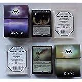 Duel Deck: Divine vs Demonic + 200 Docsmagic.de Card Game Sleeves - Magic: The Gathering Anthology Decks