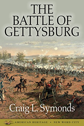 The Battle of Gettysburg cover