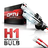 OPT7 Blitz H1 Replacement HID Bulbs Pair [8000K Ice Blue] Xenon Light