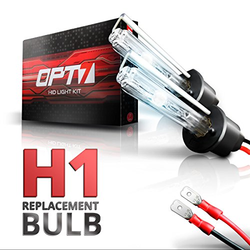 Replacement 2006 Kia Optima (OPT7 2pc Blitz H1 Replacement HID Bulbs [8000K Ice Blue] Xenon Light)