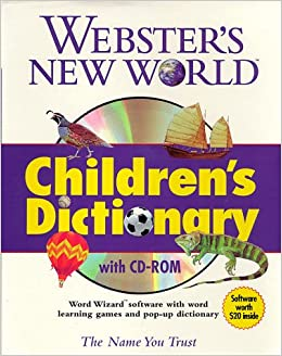 Buy Webster′s New World Children′s Dictionary with CD-ROM Book