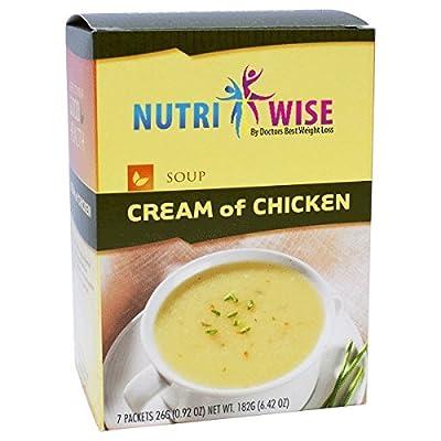 NutriWise - Cream of Chicken High Protein Diet Soup (7/box)