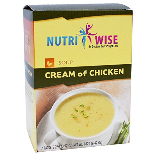 NutriWise - Cream of Chicken High Protein Diet Soup (7/box)