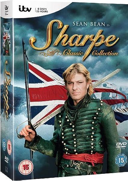 Sharpe Complete Series 15 Films 8 Dvd Box Set Sharpe S Rifles Sharpe S Eagle Sharpe S Company Sharpe S Enemy Sharpe S Honour Sh Non Usa Format Pal Reg 2 Import United Kingdom Amazon Ca Sean Bean Dvd