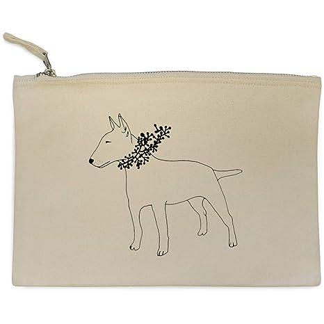Azeeda Bull Terrier Bolso de Embrague / Accesorios Case (CL00002090)