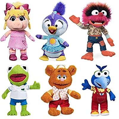 Muppets Babies Plush Set: Toys & Games