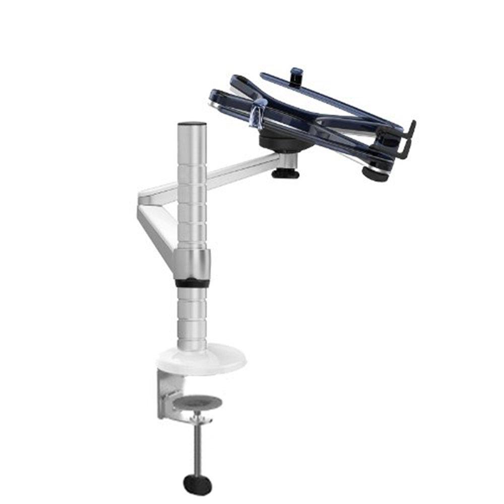 R/églable en Aluminium pour ordinateur portable//Notebook//moniteur LCD Desk Mount Support pivotant et inclinable avec bras simple collier de serrage de Support
