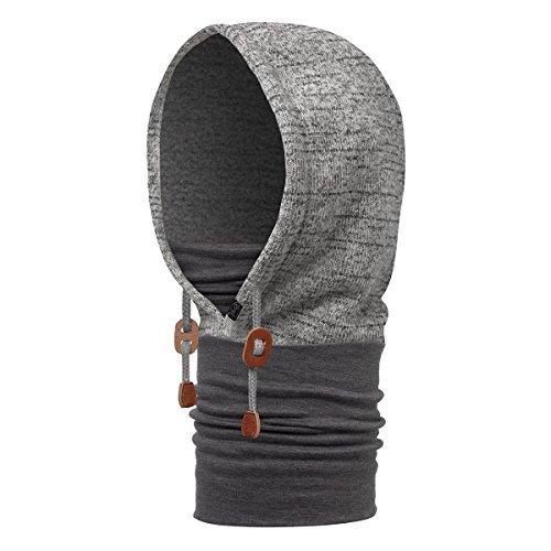Buff Polar Thermal Hoodie, Melange Grey, One Size (Buff Polar)