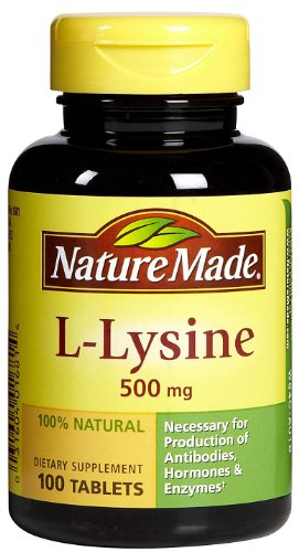 Nature Made L-Lysine - 500 mg - 100 comprimés