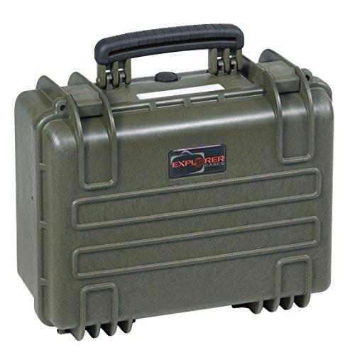 Explorer Cases 3818 GE Waterproof Dustproof Multi-Purpose Protective Case Empty, Military Green by Explorer Cases