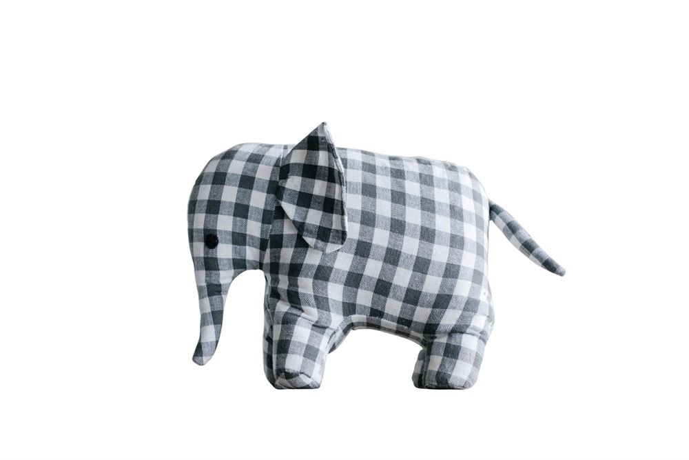 Heart of America Cotton Elephant Door Stop - 3 Pieces