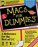 Macs for Dummies, Pogue, David, 1568840519