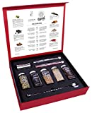 Gin and Tonic Premium Gift Set of Cocktail Botanicals and Spices with Spoon & Dispenser - Mixology Flavoring Kit