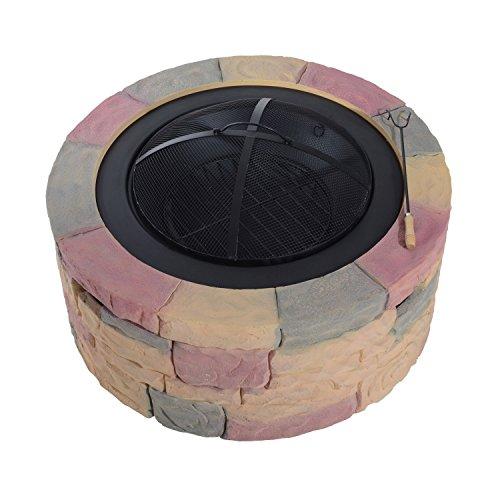 """Outsunny 35"""" Decorative Stone"""