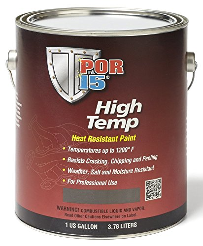 POR-15 44201 Gray High Temperature Paint Manifold - 1 gal by Wh Kemp