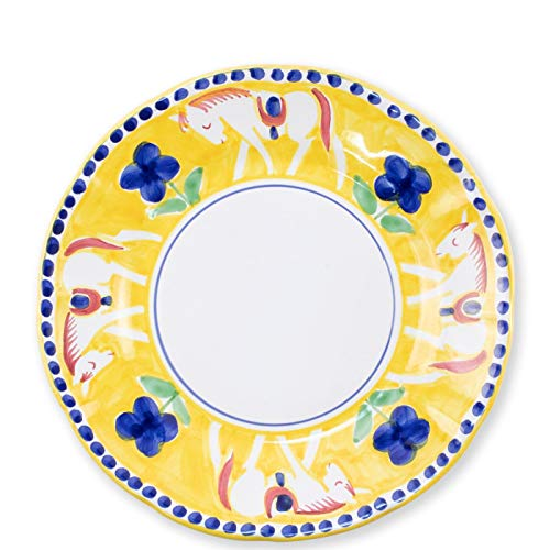 (Vietri Cavallo Dinner Plate - Campagna Collection)