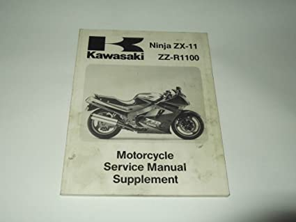 Service manual Supplement Kawasaki Ninja zx-11/zz-r 1100 ...