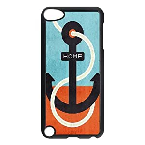 LZHCASE Design Phone Case Anchor For Ipod Touch 5 [Pattern-1]