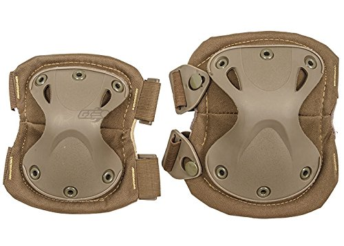 Emerson Tactical Quick Release Elbow & Knee Pad Set (Tan) by Emerson