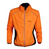 Best Running Jackets - MonkeyJack Reflective Ultra-light Cycling Jacket Bicycle Riding Running Review