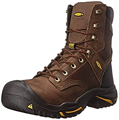 Amazon.com | KEEN Utility Men&39s Mt. Vernon 8&quot Work Boot