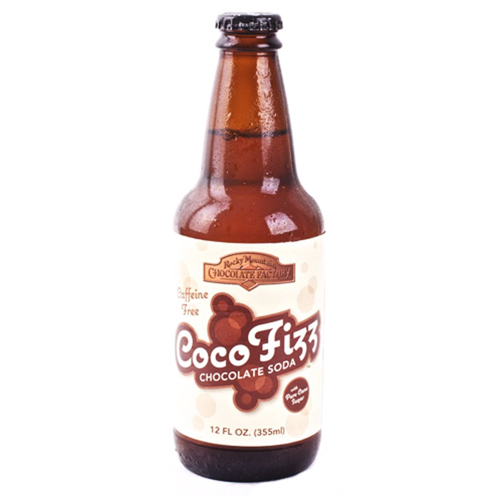 Amazon.com : Zuberfizz CocoFizz Chocolate Soda 12 Pack : Soda Soft ...