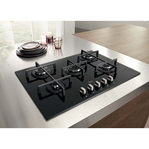 Whirlpool GOS 7513/NB built-in Gas Black hob - hobs (Built-in, Gas ...