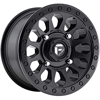 Ion 134 Matte Gunmetal//Black Beadlock Wheel with Painted Finish 18 x 10. inches //8 x 180 mm, -19 mm Offset