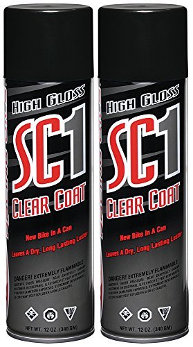 Maxima 78920-2PK SC1 Clear Coat Silicone Aerosol Spray, 24 fl. oz., 2 Pack Size: 24 Ounces (Pack of 2), Model: 78920-2PK, Outdoor&Repair Store by Hardware & Outdoor