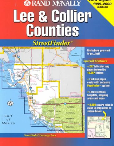 (Rand McNally Streetfinder : Collier/Lee County Florida)