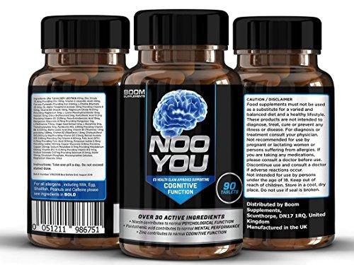 Nootropics Supplements | #1 Proven Nootropic and Brain Supplement | 90...
