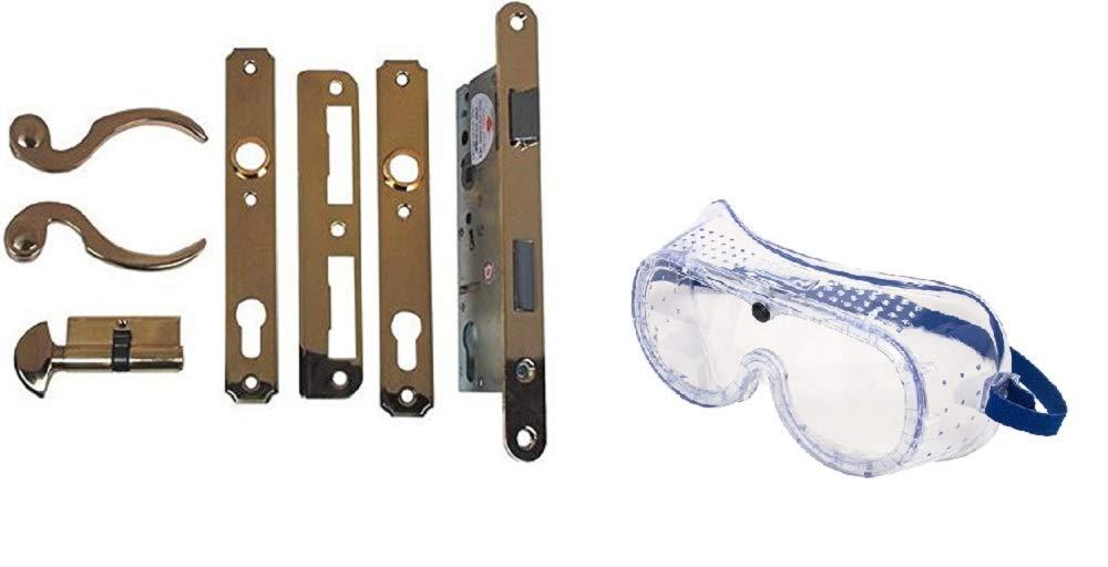 Atrium Door Lock Replacement Exact Replacement for Atrium Doors with Free Safety Goggles