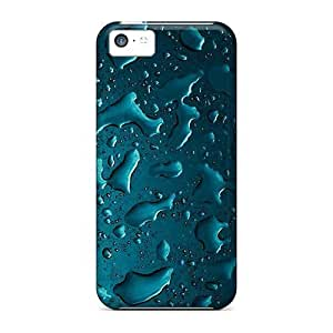 New Style Tpu 5c Protective Case Cover/ Iphone Case - Blue Iphone