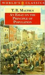 classics essay oxford population principle world
