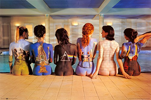 Pink Floyd - Back Catalogue Poster 36 x 24in
