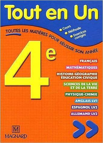 Livre Tout en un 4e pdf ebook