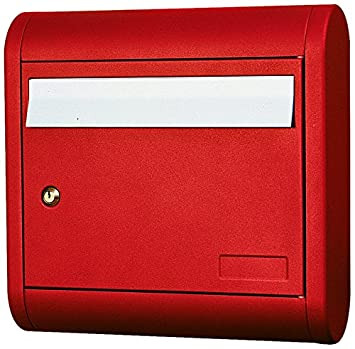 Alubox Sonne Briefkasten Rot Amazon De Baumarkt