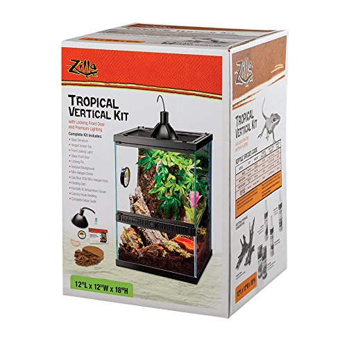 Zilla Tropical Reptile Vertical Lighting