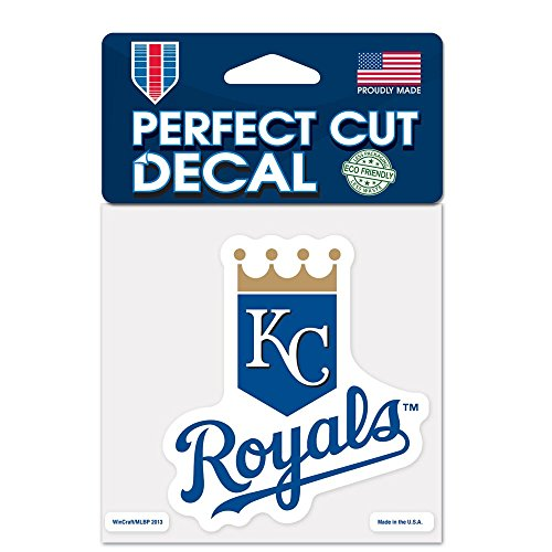 MLB Kansas City Royals 36123013 Perfect Cut Color Decal, 4
